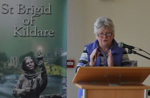 Hilary Musgrave giving lecture