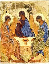 The Trinity icon by Rublev